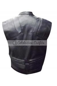 The Avengers Jeremy Renner Hawkeye Leather Vest