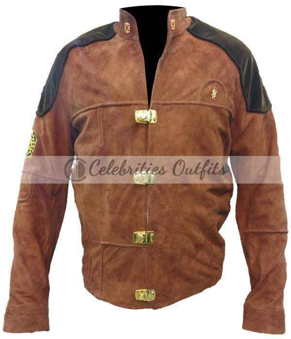 Battlestar Galactica Colonial Warrior Pilot Suede Jacket