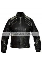 Michael Jackson Beat It Black Replica Leather Jacket