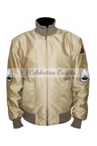 Fury WW2 Brad Pitt Kay Canvas Tanker Cotton Jacket