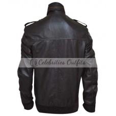 Andy Samberg Brooklyn Nine-Nine Bomber Leather Jacket