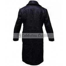 Al Pacino Carlito's Way Black Trench Leather Coat