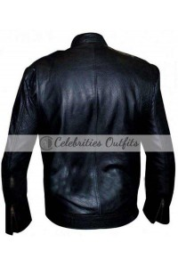 Jon Seda Chicago P.D. Black Leather Jacket