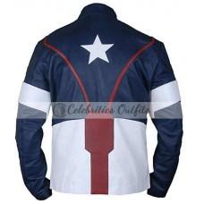 Avengers Age Of Ultron Chris Evans Costume Jacket