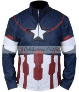 Avengers Age Of Ultron Chris Evans Costume Jacket