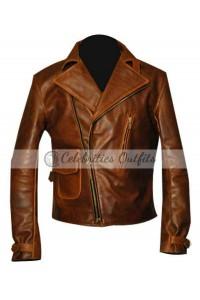 Chris Evans Captain America First Avenger Brown Jacket