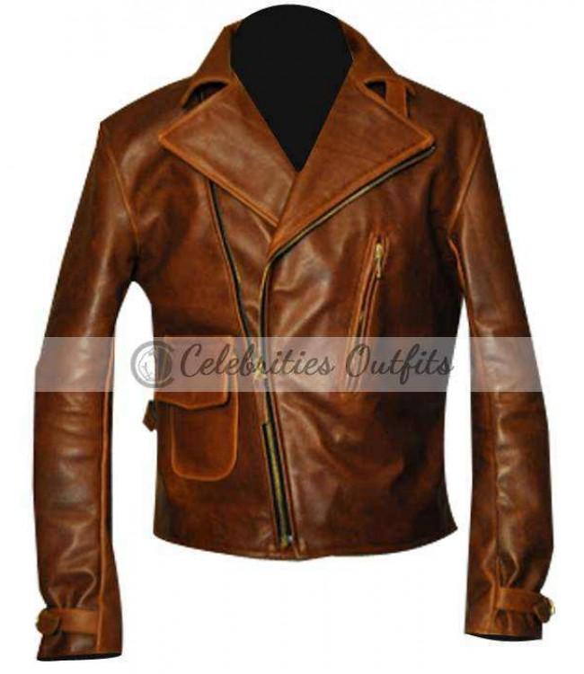 e98d2d1b52b Captain America First Avenger Chris Evans Brown Jacket