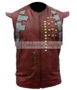 Guardians Of The Galaxy Chris Pratt Leather Vest