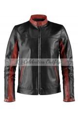 Batman Dark Knight Christian Bale Biker Jacket
