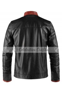 Batman Dark Knight Christian Bale Biker Jacket