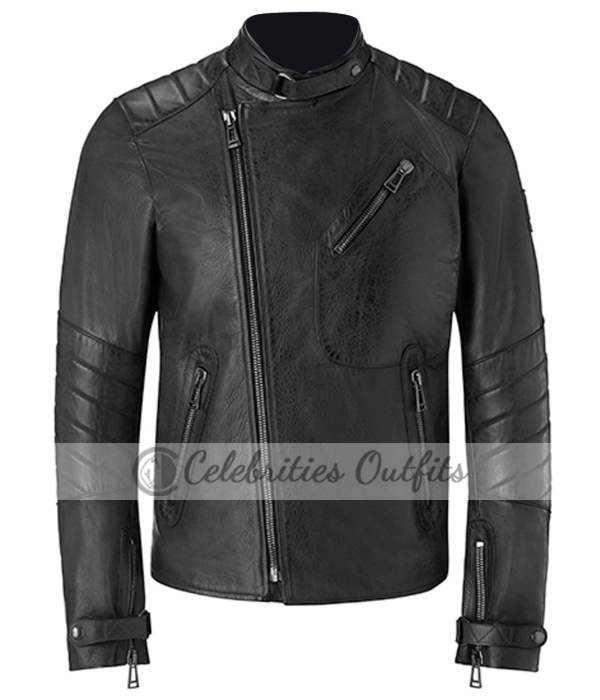 Christian Bale Leather Jacket on Dark Knight: Belstaff ...