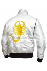 Drive Movie Ryan Gosling Scorpion Satin Jacket