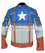 Captain America: First Avenger Chris Evans Costume Jacket