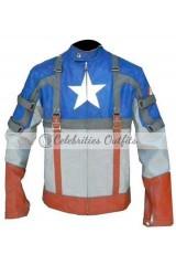 Captain America: First Avenger Chris Evans Costume Jacket