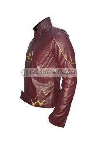 Grant Gustin The Flash TV Show Cosplay Costume Jacket