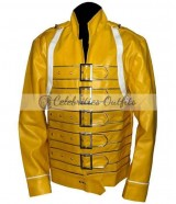 Freddie Mercury Yellow Concert Replica Jacket Costume