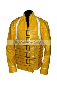 Freddie Mercury Yellow Concert Replica Jacket Costume