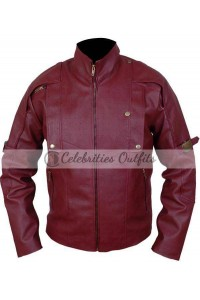 Guardians Of The Galaxy Chris Pratt Leather Jacket
