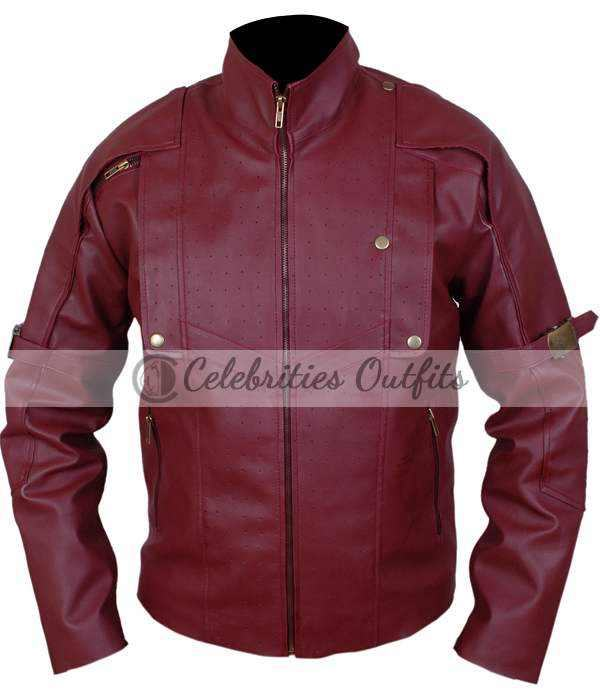 Guardians Of The Galaxy Chris Pratt Leather Jacket