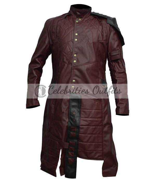 Guardians Of The Galaxy New Design Chris Pratt Coat