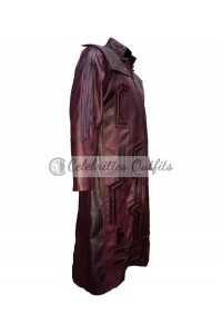 Guardians Of The Galaxy Vol.2 Starlord Coat Leather Costume