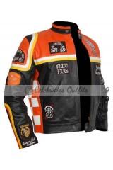 Micky Rourke Harley Davidson And Marlboro Man Biker Jacket