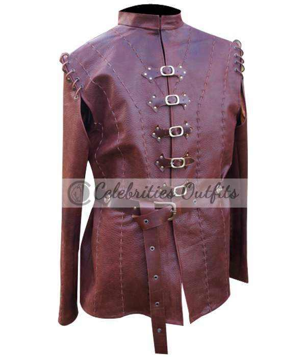 Jaime Lannister Game Of Thrones Season 5 Leather Jacket