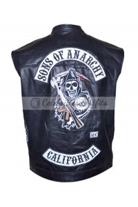 Buy Sons Of Anarchy SOA Jax Teller Biker Riding Vest