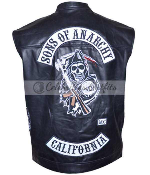 Buy Sons Of Anarchy SOA Jax Teller Biker Riding Vest