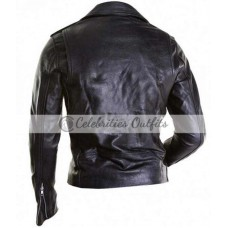 All Around The World Justin Bieber Black Studded Jacket