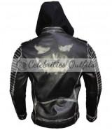 The Killing Joker Suicide Squad Hooded Black Jacket