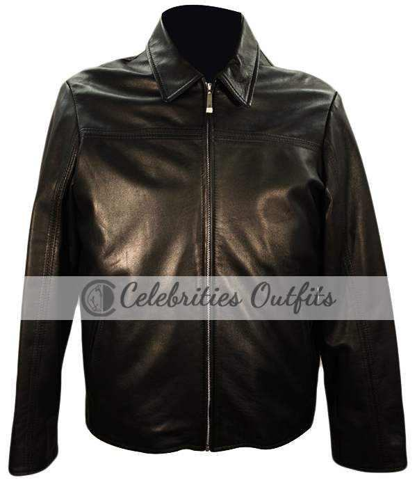 Daniel Craig Layer Cake XXXX Leather Jacket
