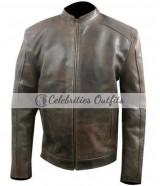 Matt Damon Jason Bourne 2016 Brown Leather Jacket