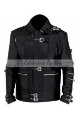 Michael Jackson Bad Black Replica Leather Jacket