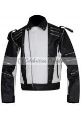 Michael Jackson Black Pepsi Real Leather Jacket