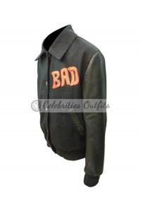 World Tour Michael Jackson Bad Black Bomber Jacket