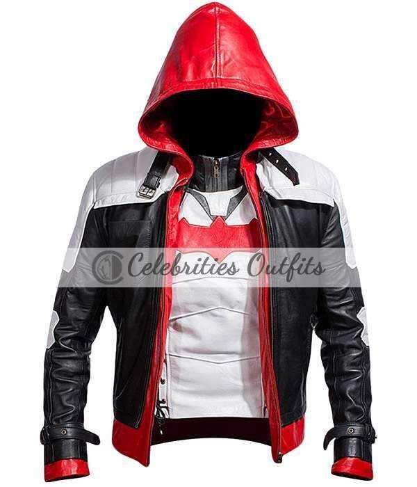 Red Hood Batman Arkham Knight Cosplay Costume Jacket