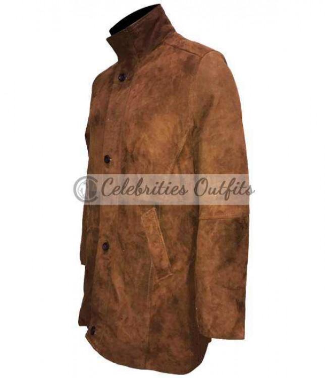 bdfd77d653f Longmire TV Series Robert Taylor Sheriff Walt Leather Coat