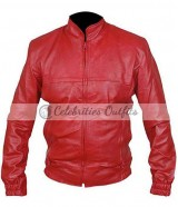 Place Beyond The Pines Ryan Gosling Red Motorcycle Jacket