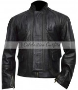 Captain America Winter Soldier Sebastian Stan Leather Jacket