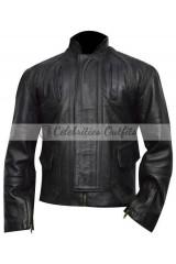 Captain America Winter Soldier Sebastian Stan Leather Jacket