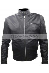 Tom Welling Smallville Clark Kent Black Leather Jacket