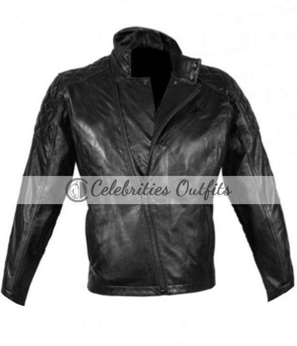 Metal Gear Solid 5 Snake Cosplay Motorcycle Jacket