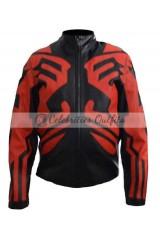 Darth Maul Star Wars Phantom Menace Black Costume Jacket