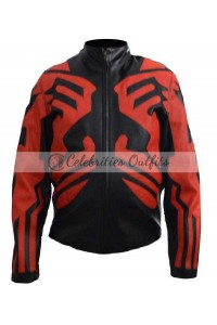 Darth Maul Star Wars Phantom Menace Black Costume Jacket