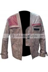 Finn Star Wars Force Awakens Leather Jacket