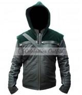 Arrow Season 2 Stephen Amell Oliver Green Hoodie Jacket