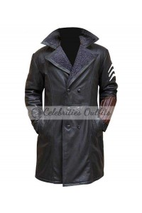 Jai Courtney Suicide Squad Captain Boomerang Trench Coat