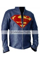 Superman Man Of Steel Blue Jacket Costume Sale