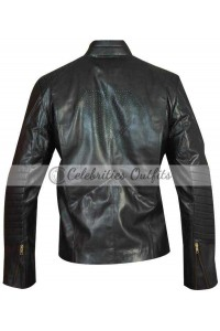 Superman Smallville Tom Welling Black Replica Leather Jacket